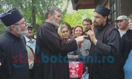 Ecumeniștii au fost rușinați astăzi la Botoșani. Credincioșii au sărit în ajutorul Părintelui Ioan Ungureanu.