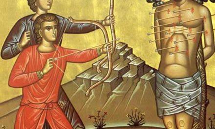 Luna decembrie în 18 zile: Pomenirea Sfântului Mucenic Sebastian şi a celor împreună cu dânsul Zoe, Tranchilin, Nicostrat, Claudiu, Castor, Tiburtie, Castul, Marcelin, şi Marcu (†288)