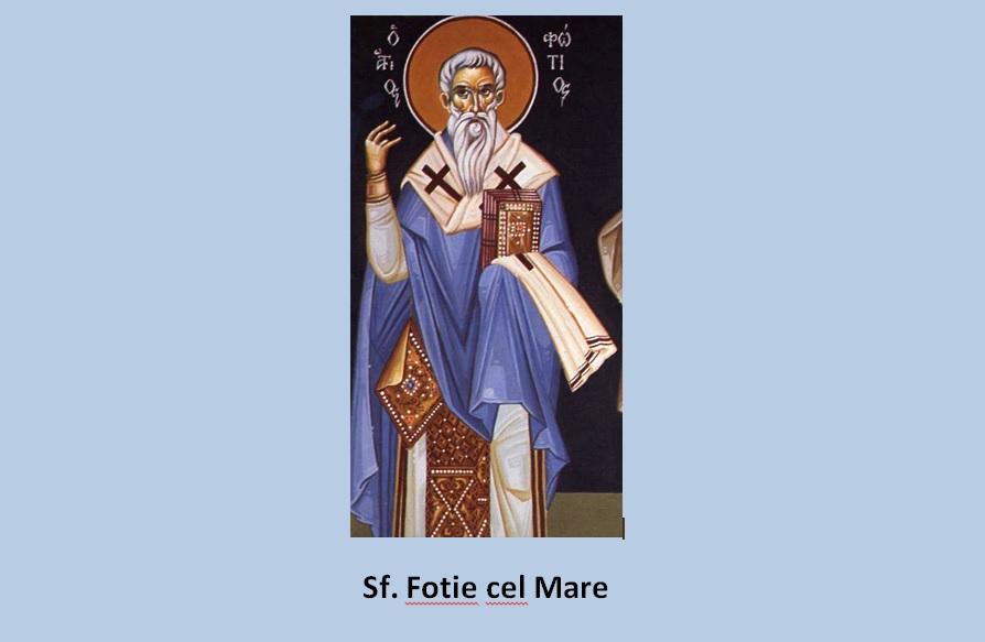 Sfântul Fotie cel Mare despre anatematizarea sa. Îndemnuri larăbdare