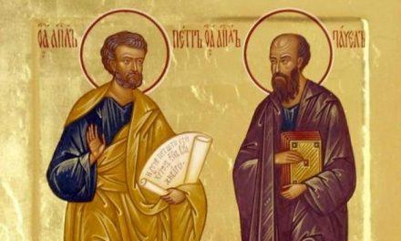 Începutul Postului Sfinților Apostoli