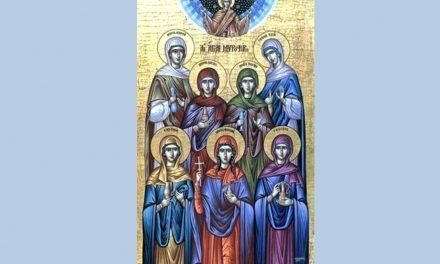 Pomenirea Sfintelor Mucenițe fecioare Tecla, Mariamni, Marta, Maria şi Enata și despre LEPĂDAREA CUMPLITĂ a preotului lor ce a ajuns să le taie capatele