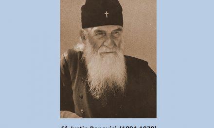 """Pildele Sfântului Iustin Popovici – """"Trebuie să ascultăm pe Dumnezeu mai mult decât pe oameni. Privitor la acest adevăr, nu sunt cu putință nici concesiile, nici compromisurile, nici retragerile. Nimeni nu ne poate sili, nici chiar un Sobor Ecumenic, dacă s-ar întâmpla ca acesta să aibă loc."""""""