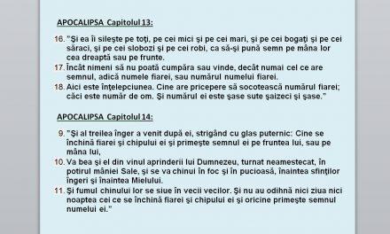 """România – sub DICTATURA CIPULUI (precursorul """"semnului fiarei – 666"""" conform Sfintei Scripturi – Apocalipsa, cap.13 și 14)"""