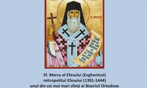 """""""Vom mărturisi până la ultima suflare"""" – Sf. Marcu Evghenicul"""