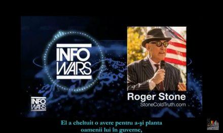 Roger Stone: Dumnezeule, jumătate din populația României este spionată! Soros este în cârdășie cu serviciile de informații. E cutremurător ce are de gând. E un mister pentru mine de ce președintele nu a făcut asta. Ce rol are Iohannis în această ecuație