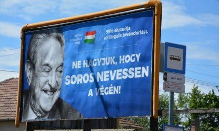 """Alianță între Israel și Ungaria, ȚINTA este George Soros. Orban a împânzit Budapesta de bannere: """"Să nu-l lăsăm pe Soros să fie cel care râde la urmă"""""""