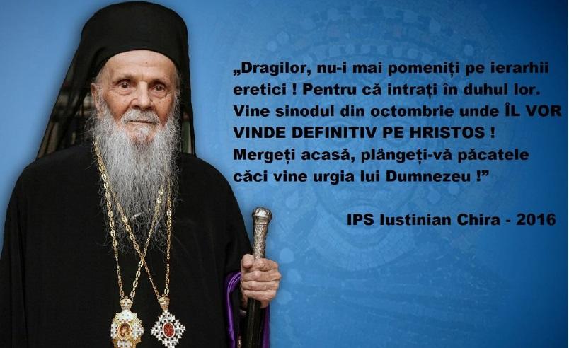 Între conlucrare şi erezie – problema harului şi a Sfintei Împărtăşanii în Biserică şi actualizarea ei la situaţia creată în România după sinodul tâlhăresc din Creta. Theodor Leontescu
