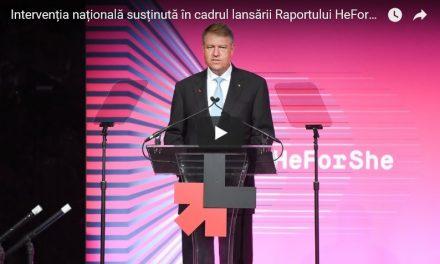 O declarație a președintelui Klaus Iohannis care a trecut neobservată: Până în 2020, 70% din instituțiile din România vor avea experți în egalitatea de gen