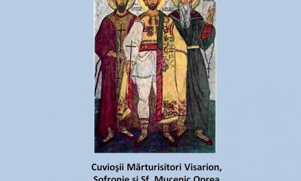 Pr. Ciprian Ioan Staicu – predică la pomenirea Sfinților Mărturisitori Ardeleni – 21 oct 2017