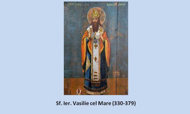 Sfântul Vasile cel Mare către preoții mărturisitori prigoniți și către mirenii ce îi urmează. Despre tainele ereticilor necondamnați sinodal