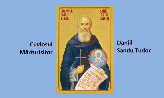 """17 noiembrie – Pomenirea Ieroschimonahului DANIIL Sandu Tudor, inițiatorul grupului """"Rugul aprins"""""""