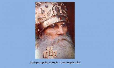 Testamentul Duhovnicesc al Arhiepiscopului Antonie al Los Angelesului sau Predania Bisericii Ortodoxe Ruse din Afara Granițelor