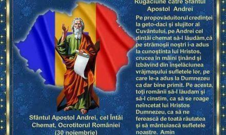 Predică la praznicul Sfântului Andrei a Pr. Ciprian Staicu – 30 noiembrie 2017