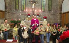 Ceremonie ECUMENISTĂ la Bazilica Sfântul Anton, cu ortodocşi, catolici şi protestanţi din Baza militară Mihail Kogălniceanu