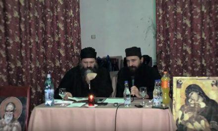 Conferința lui Gheron Sava Lavriotul la Râmnicu Sărat (19 decembrie 2017)
