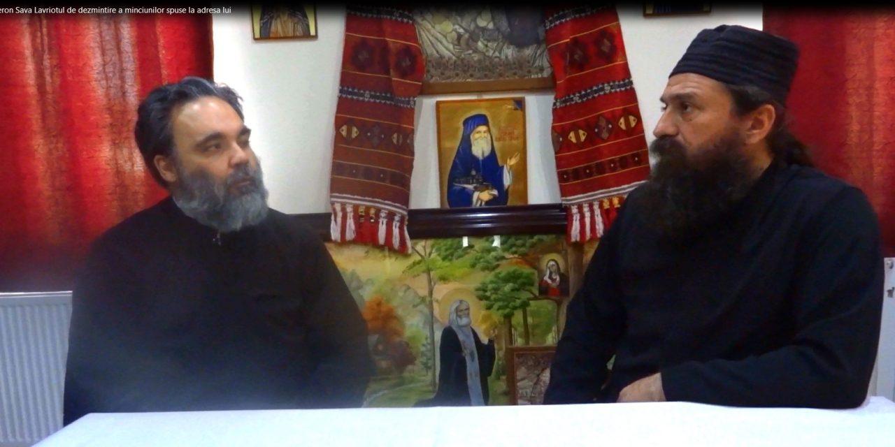 Interviu cu Gheron Sava Lavriotul de dezmințire a minciunilor spuse la adresa lui