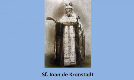 Film documentar ECCE HOMO (IATĂ OMUL) – Viața Sfântului Ioan de Kronstadt († 20 Decembrie)