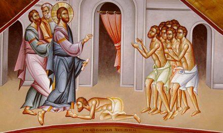 Predica Părintelui Ciprian Ioan Staicu la Duminica vindecării celor 10 leproși – 14 ianuarie 2018