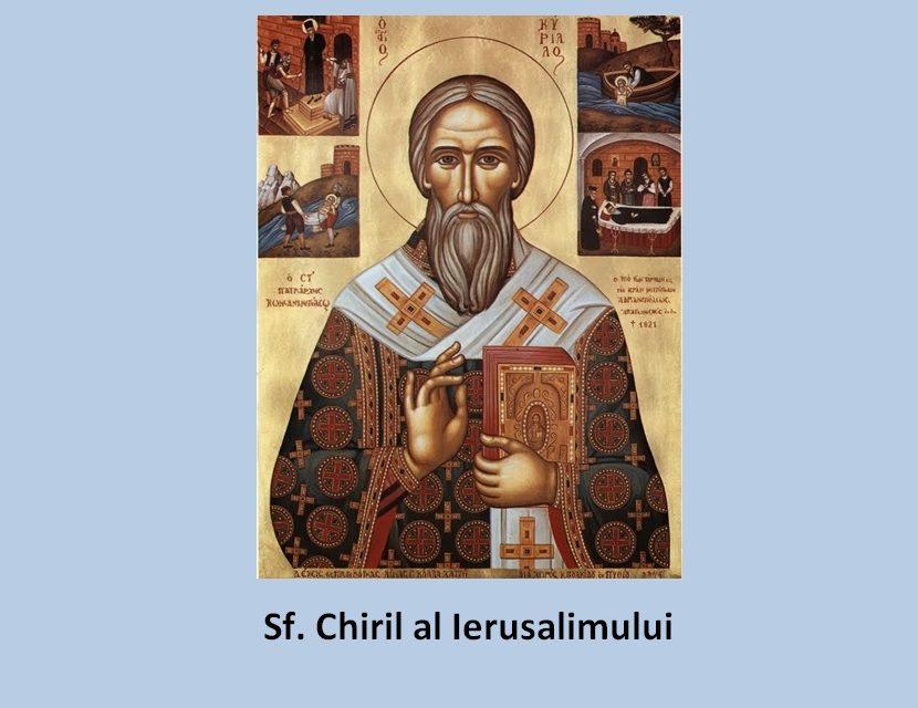 Sfântul Chiril al Ierusalimului – Despre Antihrist. Ura de fraţi face loc lui Antihrist. Diavolul pregăteşte mai dinainte dezbinările dintre popoare, ca să fie bine primit cel care vine