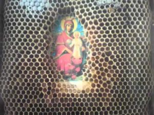 O pildă cu un stup de albine