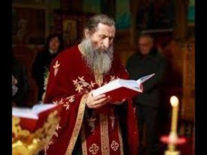 Încununarea părintelui protosinghel Elefterie Tărcuță ca Mărturisitor Ortodox. VREDNIC ESTE!