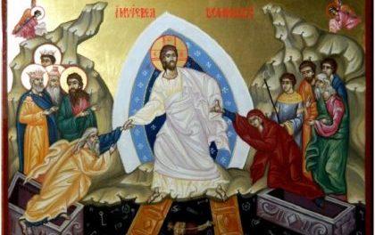 HRISTOS A ÎNVIAT ! Predica Părintelui Ciprian Ioan Staicu la Învierea Domnului – 8 aprilie 2018