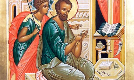 Omilie a Mitropolitului Augustin de Florina la pomenirea Sfântului Evanghelist Marcu