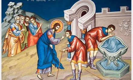 Predica Părintelui Ciprian Ioan Staicu la Duminica Orbului – 13 mai 2018