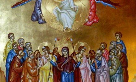 Predica Părintelui Ciprian Ioan Staicu la Înălțarea Domnului (17 mai 2018)