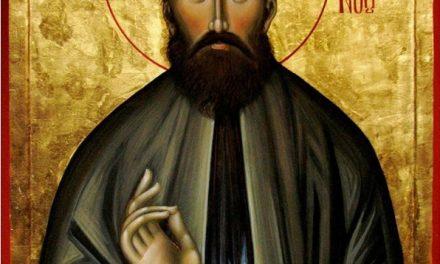 Predica Părintelui Ciprian Ioan Staicu la pomenirea Sfântului Efrem cel Nou – 5 mai 2018