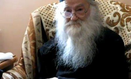 Părintele Justin Pârvu – Trăim într-un veac al minciunii şi al înşelării