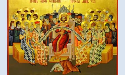 Predica Părintelui Ciprian Ioan Staicu la Duminica praznuirii Sf. Părinți de la Sinodul I Ecumenic (20 mai 2018)