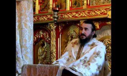 Predica Părintelui Xenofont în Duminica Sfinților Români, 10 iunie 2018, Rădeni – Nimeni nu se poate mântui dacă nu are dreaptă credință și dreaptă viețuire. Trebuie credință vie și fapte ale credinței! Cei care rămân în starea de erezie nu se mântuiesc!