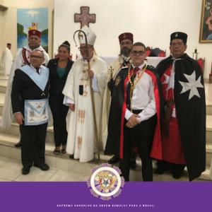 În Brazilia, papistașii au săvârșit o liturghie pentru… masoni. Încă un pas făcut spre religia universală a lui antihrist