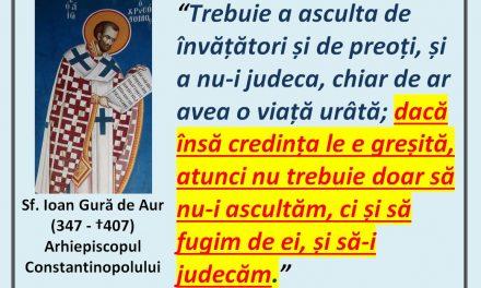 Sfântul Ioan Gură de Aur despre eretici