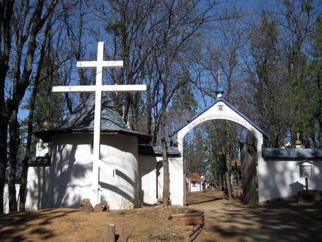 Minunea Crucii de la întemeierea mănăstirii din Platina unde a viețuit Părintele Serafim Rose
