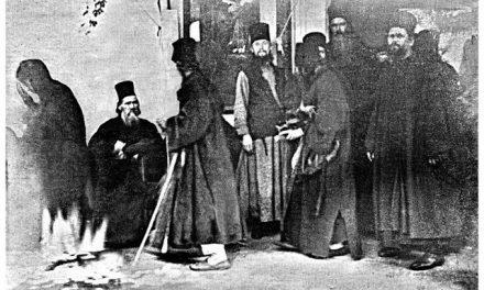 Athos, 1903 – poză a Fecioarei Maria, smerita Maică a Domnului Iisus Hristos…