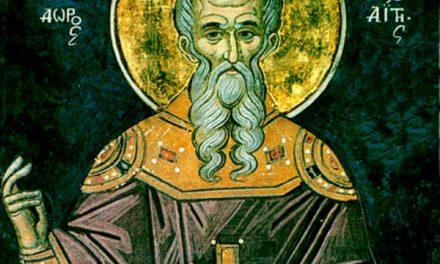 Întinare are împărtăşania din singurul fapt că îl pomeneşte pe ereziarh, chiar dacă ortodox ar fi cel ce face Sfânta Liturghie. Paharul ereticesc şi pâinea ereticească este împărtăşire de potrivnicul. In cazul celor adormiţi, cu care împărtăşanie au murit, de aceea au şi parte – Sfântul Theodor Studitul