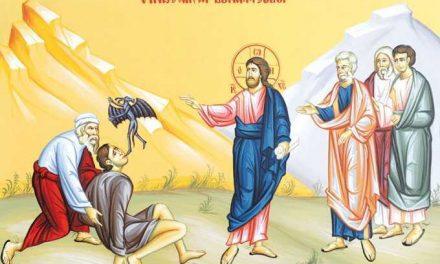 Predica Părintelui Ciprian Ioan Staicu la Duminica a X-a după Pogorârea Sfântului Duh – vindecarea lunaticului