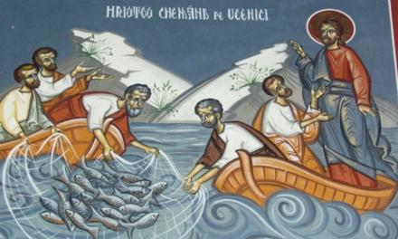 Predica Părintelui Ciprian-Ioan Staicu la Duminica a XVIII-a după pogorârea Sfântului Duh – Pescuirea minunată