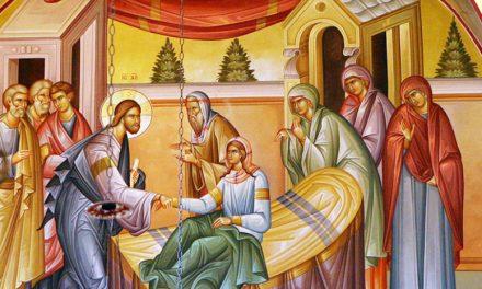 Predica Părintelui Ciprian Ioan Staicu la Duminica Învierii fiicei lui Iair – 28 oct. 2018