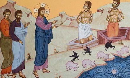 Predica Părintelui Ciprian Ioan Staicu la Duminica a XXIII-a după Pogorârea Sfântului Duh – Vindecarea demonizaților din ținutul Gherghesenilor – 21 oct 2018
