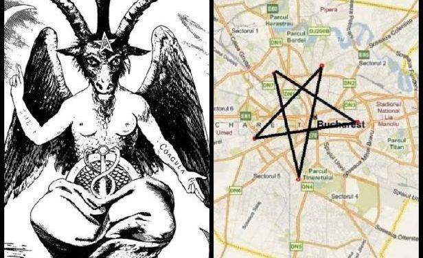 Satanizarea Bucureștiului – Cinci statui ale lui Baphomet în București