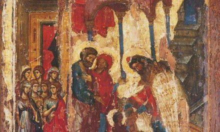 Cuvânt patristic la praznicul Intrării în templu a Maicii Domnului (21 noiembrie)