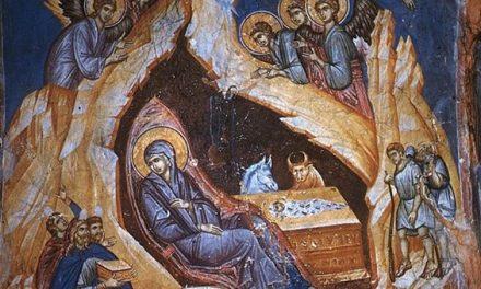 Analiza teologică ortodoxă a icoanei Nașterii Domnului nostru Iisus Hristos