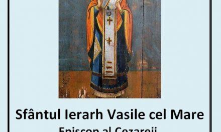Predica Părintelui Ciprian Ioan Staicu la praznicul Sfântului Vasile cel Mare – 1 ianuarie 2019