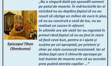 Episcopul Tihon (Shevkunov) – cuvânt de folos