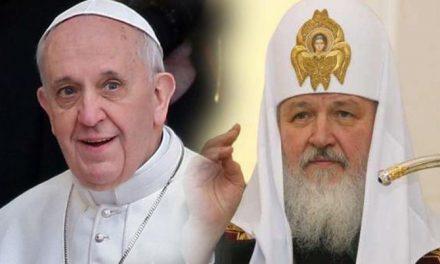 """Ieroschim. Rafail Berestov: """"Dacă patriarhul îl va pomeni pe papă, înseamnă că el este catolic şi nu ortodox! Nu se mai poate tăcea!"""""""