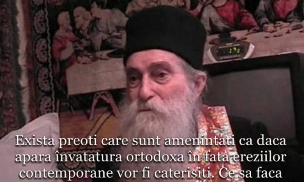 Marele duhovnic Pr. Arhim. Arsenie Papacioc despre atitudinea preoților față de ecumenism