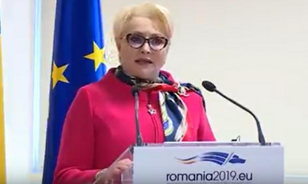 Viorica Dăncilă, pledoarie pentru egalitatea de gen, de Ziua Femeii
